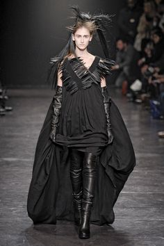 Ann Demeulemeester Fashion Show, Fall/Winter 2012