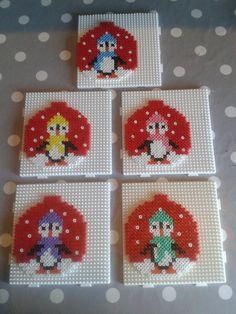Fuse Bead Patterns, Perler Patterns, Beading Patterns, 3d Perler Bead, Perler Bead Templates, Plastic Canvas Ornaments, Plastic Canvas Patterns, Christmas Perler Beads, Pearl Beads Pattern