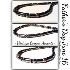 Men's NECKLACE Magnetic Therapy Custom Sized by PineBranchDesigns, $32.00