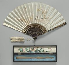 Folding Fan China, early 20th century The Museum of Fine Arts, Boston