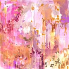 pink + gold art by michelle armas