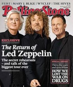 Jimmy Page looking dapper with Led Zeppelin on Rolling Stone Jimmy Page, Great Bands, Cool Bands, Rolling Stone Magazine Cover, Robert Plant Led Zeppelin, War On Drugs, Greatest Rock Bands, British Invasion, Popular Music
