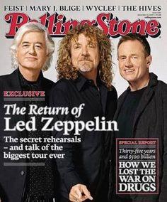 Rolling Stone Magazine - Led Zeppelin