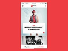 GQ App Featured Posts by Vladimir Vasilevski