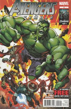 Avengers Assemble # 2 Marvel Comics