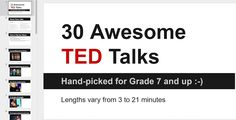 Okay, sure - TED talks are cool, and I'm not the only teacher who plays them for my students. Many intuitive educators are playing TED vid...