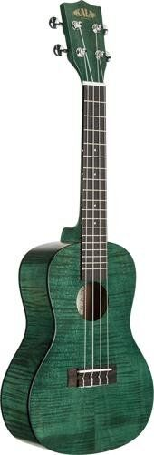 Amazon.com: Kala KA-CEMG Exotic Mahogany Concert Ukulele - Transparent Green: Musical Instruments $116
