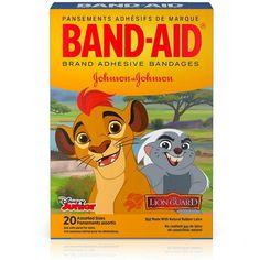 BAND-AID Disney Junior Adhesive Bandages, The Lion Guard, Assorted Sizes 20 ea - Kmart