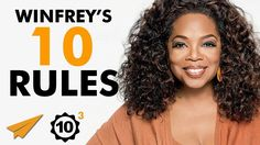 """""""You BECOME What You #BELIEVE!"""" - Oprah Winfrey (@Oprah) - Top 10 Rules - YouTube"""