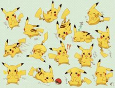 One of these Pikachus would be a good option for a tattoo