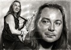 Dave Murray - IRON MAIDEN by akaLilith on DeviantArt Music Artwork, Metal Artwork, Rock And Roll Bands, Rock N Roll, Eddie The Head, Iron Maiden Band, Dave Murray, Where Eagles Dare, Adrian Smith