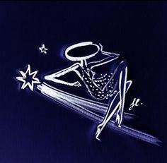 Vive les étoiles #guerlain #lapetiterobenoire #lprn #mapremiererobe #marobecocktail #mademoiselleguerlain