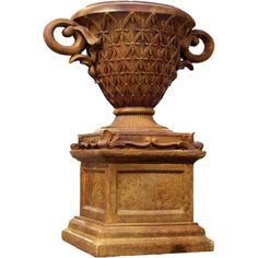 Shop Frontgate's collection of outdoor planters and garden urns to dress up your garden, terrace or entryway. These planters and terrariums make the perfect patio decor. Garden Urns, Garden Planters, Lawn And Garden, Tall Planters, Outdoor Planters, Outdoor Flowers, Steampunk Design, Lawn Ornaments, Cast Stone
