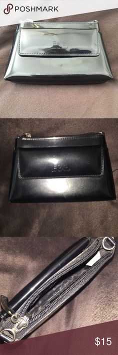 """Beijo. Black Clutch. London Paris New York. Small clutch. Size - Width 7"""" x Height 4.5"""". Perfect size for Evening events. Front exterior pocket. One interior pocket. Fits many small items at once. beijo Bags Clutches & Wristlets"""