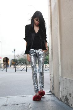 9b63f95934f0 via chicmuse  Alexander Wang heels (fw11), Luccar jeans (from Tokyo)