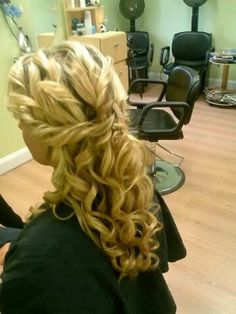 Prom hair by style studio in bensalem