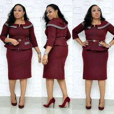 Lovely African Dresses Plus Size, African Formal Dress, African Traditional Dresses, Latest African Fashion Dresses, African Dresses For Women, African Attire, Women's Fashion Dresses, Peplum Top Outfits, Shweshwe Dresses