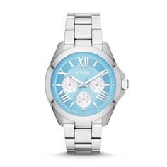 Our Cecile Multifunction Watch in Blue: cool coastal inspiration for your next look. #30looksfor30years