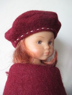 Toque or beret? Marie Clare, Baby Couture, Womens Fashion Online, Doll Clothes Patterns, Little Darlings, American Girl, Beanie, Dolls, Crochet