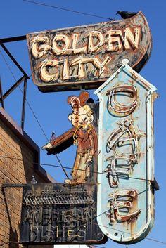 Golden City Cafe.