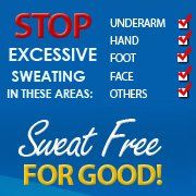 Stop Excessive Underarm Sweating and learn How To Stop Excessive Sweating From Armpits with Sweat Free For Good Or Your Money Back from www.cureexcessivesweating.org