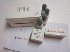 Video tutorial in italiano:Creare timbri con Silhouette Mint DIY