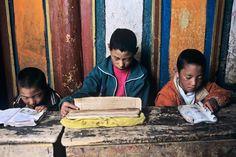 Kandze, Tibet ~ Reading | Steve McCurry