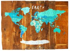 [ map painting ] i love maps in general and this is such cool painting by oliver jeffers