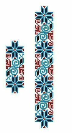 Cross Stitch Borders, Cross Stitch Designs, Cross Stitching, Cross Stitch Embroidery, Hand Embroidery, Cross Stitch Patterns, Bead Loom Patterns, Beading Patterns, Embroidery Patterns