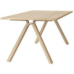Split bord från Muuto, formgiven av Staffan Holm. Matbordet som är tillverkat av en bordskiva i mass...