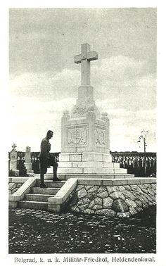 WWI. - Beograd - 1917. - K.u.K. vojno groblje