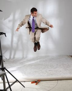 It is important that you are able to move within the suit you choose. Whether it be for business or your wedding, the right fit is important!  #suit #suitrental #wedding #weddingtux #tuxedojunction #groom #groomsmen #style #jump