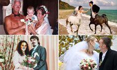 Are these the world's weirdest wedding photos?