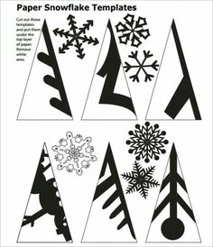 DIY Papier Diy paper snowflakes pattern snowflake 59 ideas Using A Room Humidifier For Health Aspect Paper Snowflake Template, Paper Snowflake Patterns, Paper Snowflakes, Christmas Snowflakes, Christmas Fun, Snowflake Craft, Snowflake Cutouts, Origami Christmas, Snowflake Cut Out Pattern