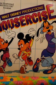 Mousercise - Walt Disney Record - this work out will still kick my ass. and seriously if you do the first track 3 times all out, it is a great workout!!