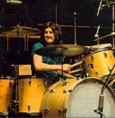 Bonham had always wanted to be a drummer from an early age, and he had amazing success with Zeppelin, but his life wasn't without it's downsides. Description from totaldrumsets.com. I searched for this on bing.com/images