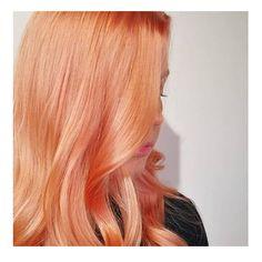 Blorange or peachy hair? 🧡 Summer in our mind. Hair by / Studio Ysi Peach Hair, Summer Hairstyles, Healthy Hair, Hair Color, Long Hair Styles, Studio, Beauty, Instagram, Summer Hairdos