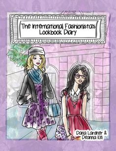 The International Fashionista's Lookbook Diary allows girls to explore what being a world citizen and fashion lover mean to them!  Recommended for girls age 8 – 12, this coloring book and diary not only introduces her to fashionistas from 10 different countries but also inspires her to sketch her personal style along with developing pieces she would introduce in her debut collection.