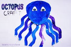 { Octopus Craft w/ Printable }