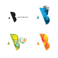 2013 Reader's Choice Award Winner: Arte Brasil Branding  Identity by Modu Design Communications. Playing Cards, Logos, Games, Logo Design, Languages, Plays, Gaming, Logo, A Logo