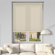 LISO BUFF 12V BATTERY POWERED ELECTRIC ROLLER BLINDS.  #blinds #ElectricBlinds #RollerBlinds #ControlissBlinds