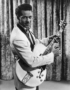 Chuck Berry.....master!