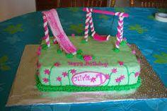 playground themed birthday cake - Google Search