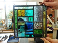 Stained Glass Day Workshop 05/04/2014
