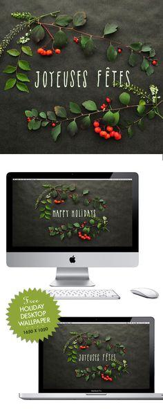 free holiday desktop wallpaper!