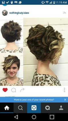 THIS IS LIKE A LITTLE GIRL AND THIS HAIRSTYLE IS ADORABLE!!