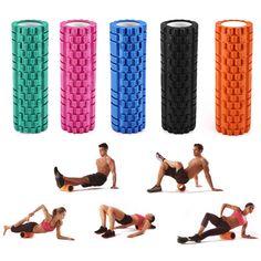 34x14cm EVA Yoga Pilates Fitness Foam Roller GYM Massage Grid Trigger Point New in Sporting Goods, Fitness, Running & Yoga, Fitness Equipment & Gear | eBay