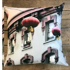 """China Town"" / San Francisco by Taiga Colors Holidays In Finland, San Francisco, China, Throw Pillows, Colors, Painting, Design, Art, Art Background"