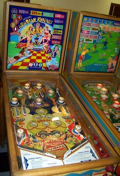 "1953 Arabian Knights ""Gottlieb"" Pinball Machine"