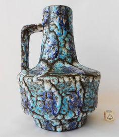 ES Keramik Vintage 70s West German Pottery